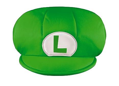 Amazon.com  Super Mario Bros. Lugigi Kids Hat  Toys   Games 085bb08efea