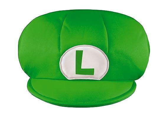 Amazon.com  Super Mario Bros. Lugigi Kids Hat  Toys   Games 2098fcab602