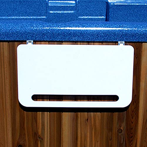 Hot Tub Caddy - Retractable Spa Shelf with built-in Towel Holder