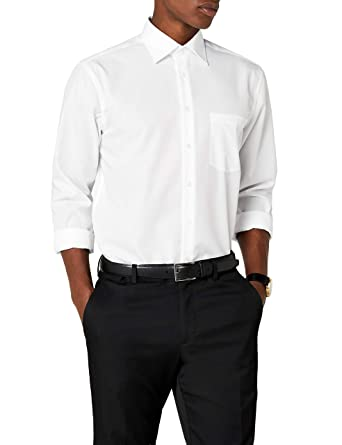 3017a2234ffa37 Seidensticker Herren Business Hemd Modern Fit – Bügelfreies Hemd mit  geradem Schnitt