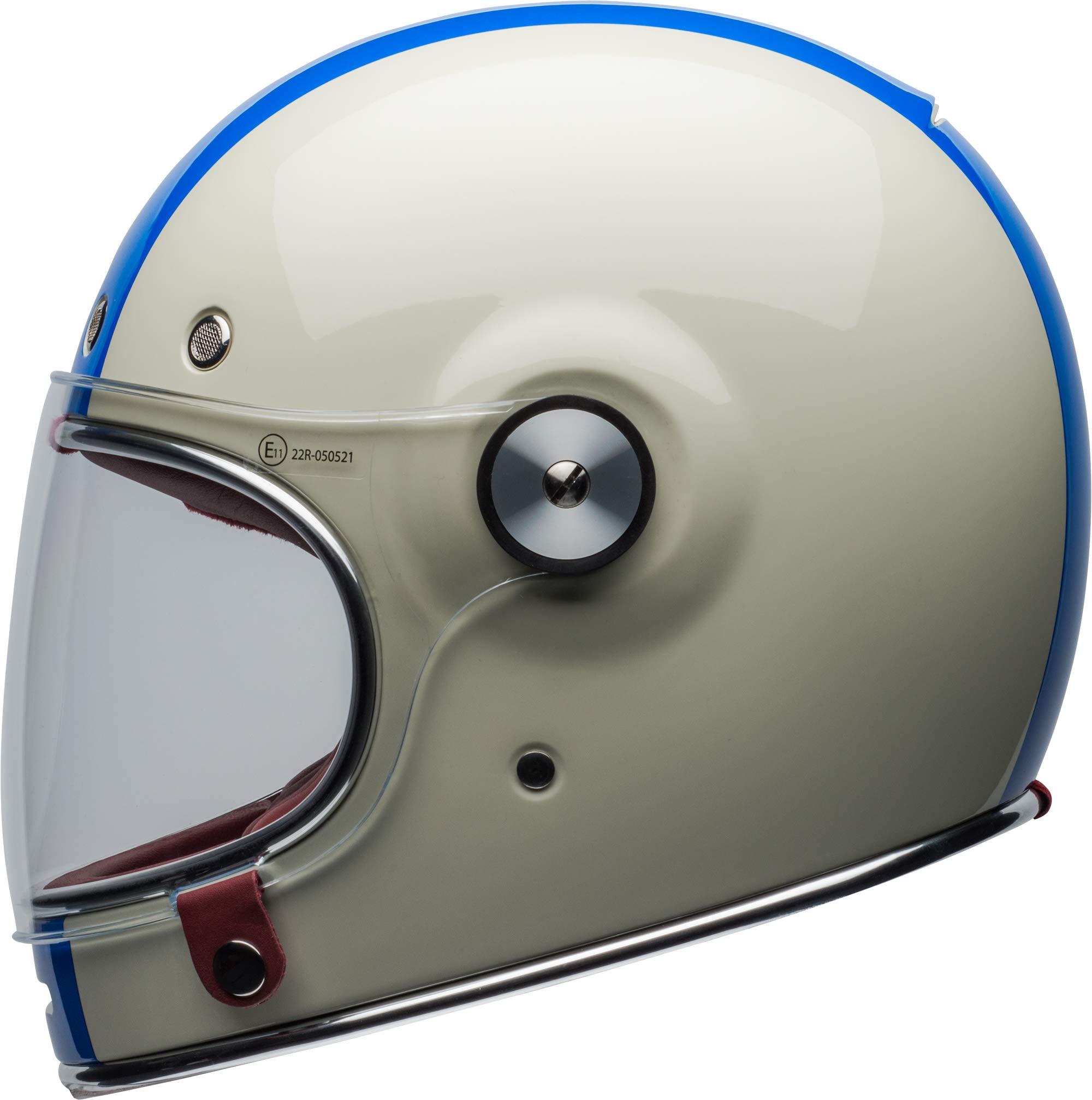 Bell Bullitt Helmet - Command (X-SMALL) (GLOSS VINTAGE WHITE/RED/BLUE) by Bell (Image #6)