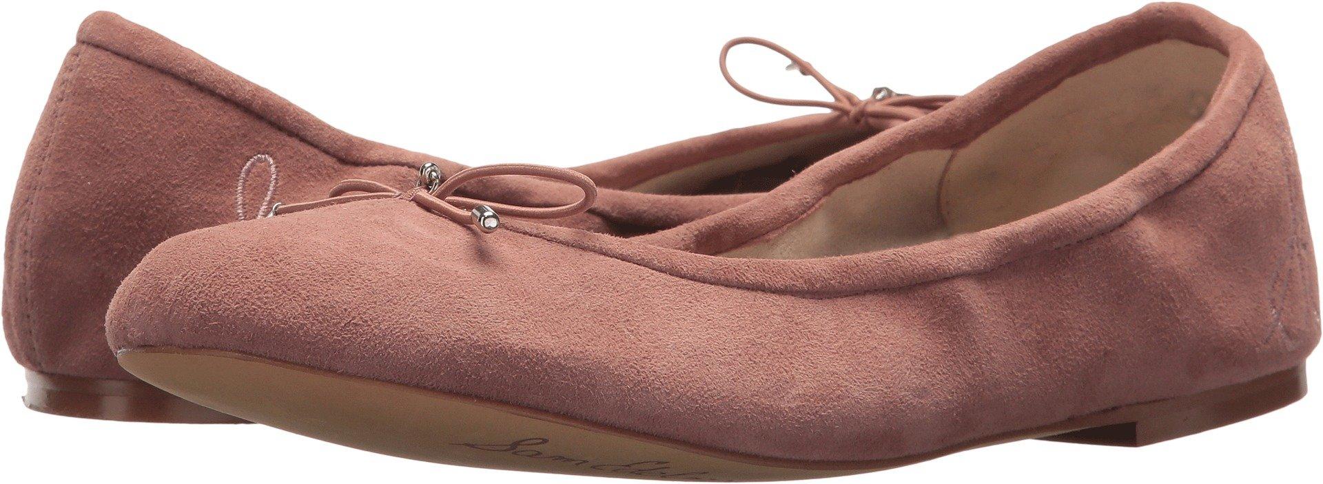 Sam Edelman Women's Felicia Dusty Rose Kid Suede Leather 10.5 M US
