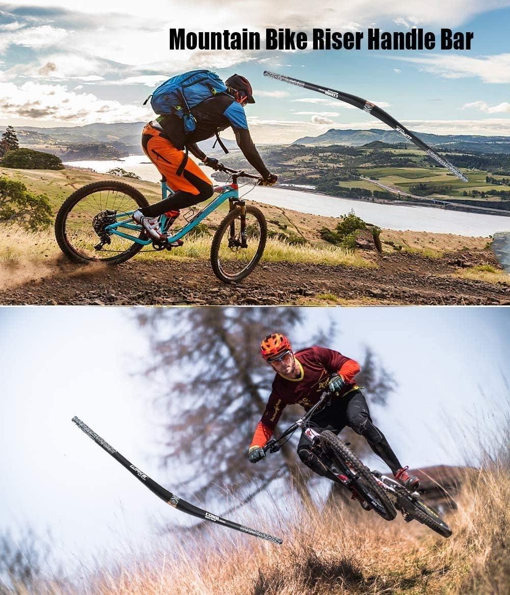 Manubrio Extra Lungo per MTB Downhill Cycling Racing 31,8 mm MIGHTYDUTY Leggero Manubrio per Mountain Bike