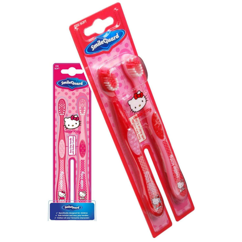 Higiene Dental y Tiritas TB301‐01 - Cepillo de dientes Hello Kitty, 2 unidades Grosvenor TB301-01