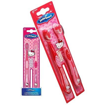 Higiene Dental y Tiritas TB301‐01 - Cepillo de dientes Hello Kitty, 2 unidades