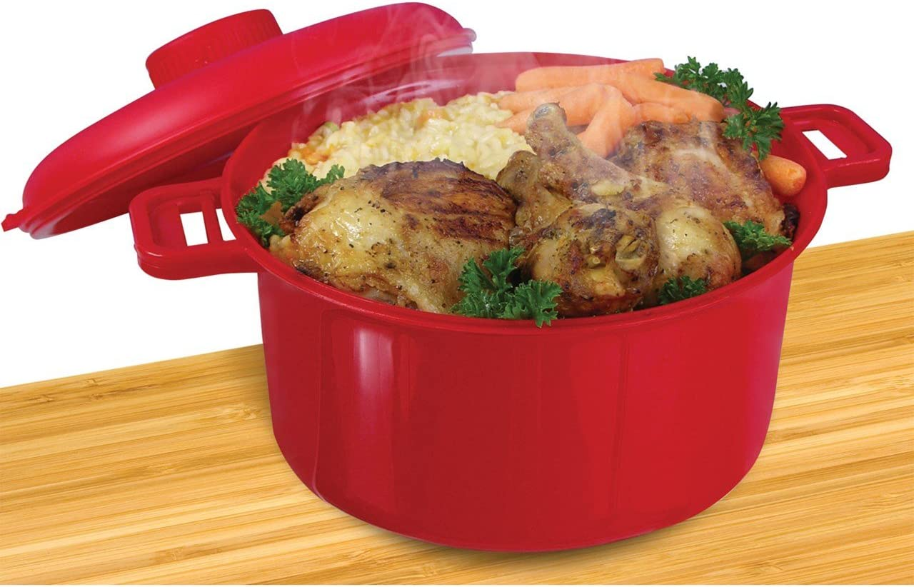 MicroMaster Microwave Pressure Cooker - Red