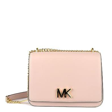 e4c5716880f1 MICHAEL by Michael Kors Mott Soft Pink Large Chain Shoulder Bag one size Soft  Pink
