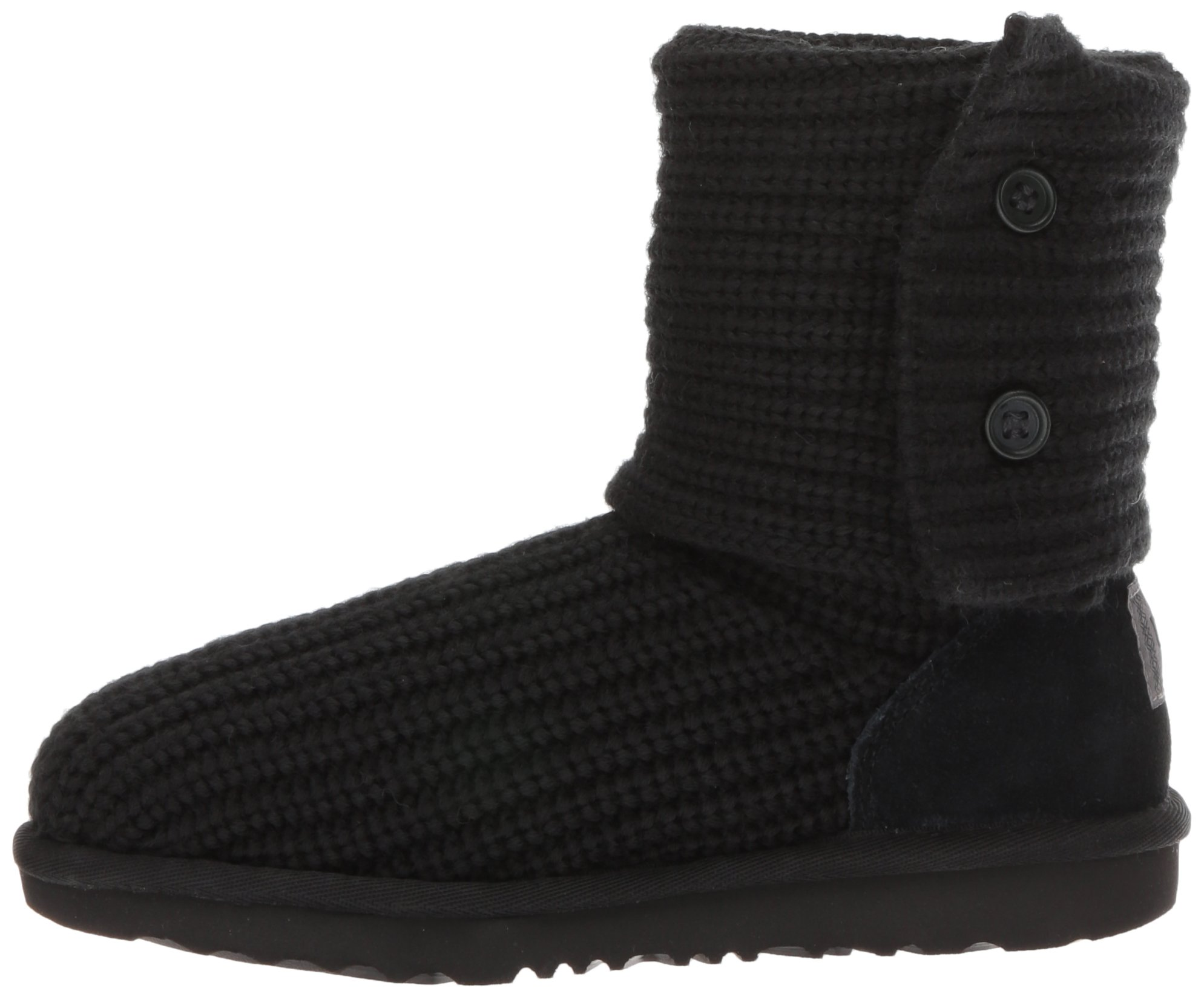 UGG Girls K Cardy II Pull-On Boot, Black, 8 M US Toddler by UGG (Image #5)
