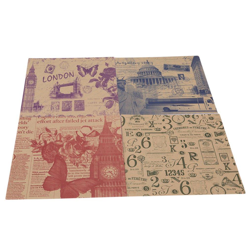 CanVivi Origami Lot DE 70 Feuilles de Papier Pliables Motif Floral 15 x 15 cm