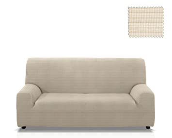 Funda De Sofa Elastica Vulcano Tamano 3 Plazas De 165 A 205 Cm