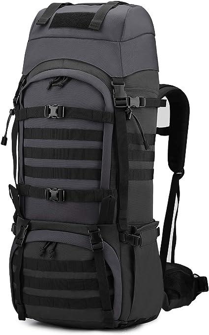 Mardingtop 65+10L Sac a Dos Militaire Sac /à Dos Tactique avec Housse de Pluie pour Trekking//randonn/ée//Camping//Voyage 4 Couleurs