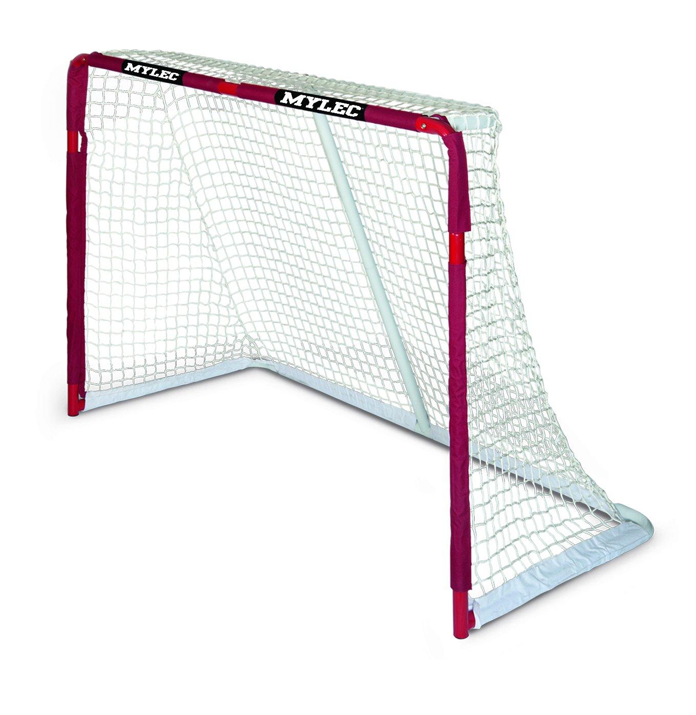 Mylec公式ProスチールHockey Goal  レッド B00005TPU0
