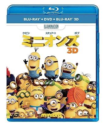 Amazon ミニオンズ ブルーレイdvd3dセット Blu Ray 映画