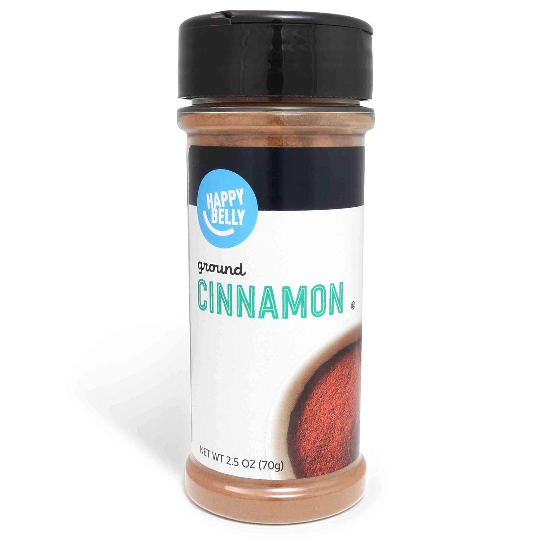 Amazon Brand - Happy Belly Cinnamon, Ground, 2.5 Ounces