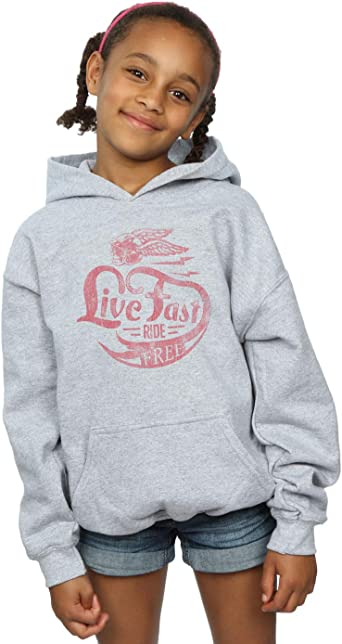 Absolute Cult Drewbacca Girls Live Fast Sweatshirt