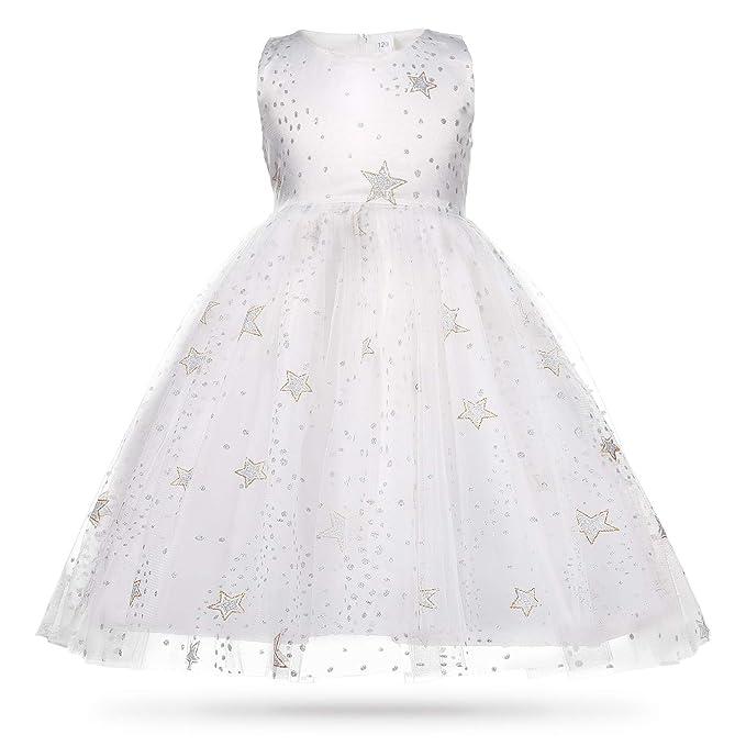 Amazon.com: CIELARKO Vestido de princesa para niñas, vestido ...