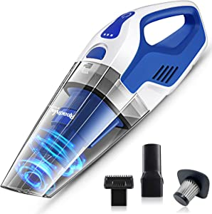 ReadiVac Storm Handheld Vacuum, Wet & Dry Hand Vacuum Cleaner, Powerful Cordless Hand Vac for Home & Car, Small Lightweight Rechargeable Handvac, 22.2volt Lithium-ion Rechargeable Battery