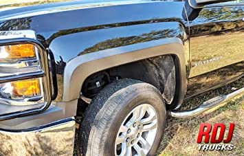 For 2014-2018 Chevy Silverado 1500 2500 3500 TYGER factory Style Fender flares