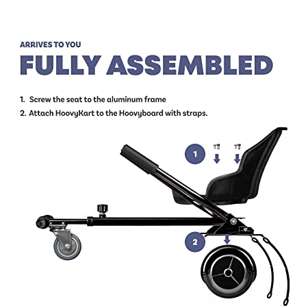 Amazon.com: HoovyKart - Kit de conversión de kart para ...