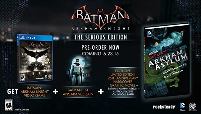 Batman: Arkham Knight - The Serious Edition (Comic Bundle ...
