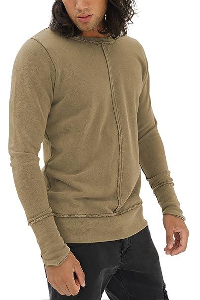 trueprodigy Casual Hombre Marca Sueter Basico Ropa Retro Vintage Rock Vestir Moda Cuello Redondo Manga Larga Slim Fit Designer Cool Urban Fashion Sweater ...