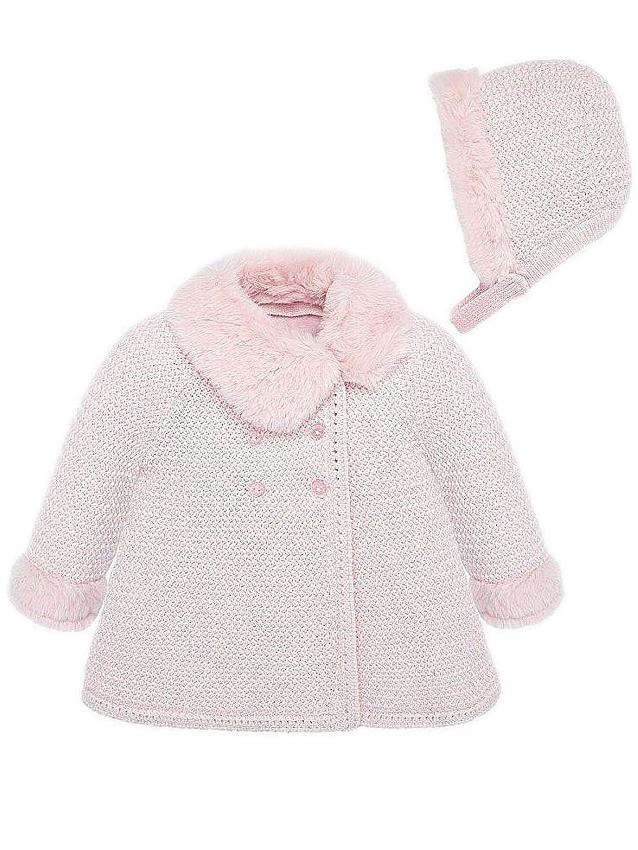 2407 Rosa Abrigo para beb/é ni/ña Mayoral