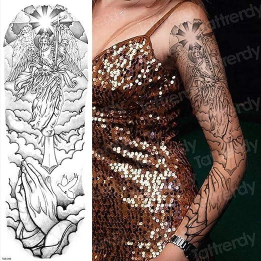 Handaxian Hombres 3pcsArm patrón de Tatuaje del Hombro con el Arte ...