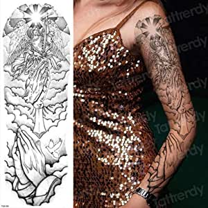 Handaxian Tatuaje de Robot mecánico de Tatuaje Rosa de 3 Piezas ...