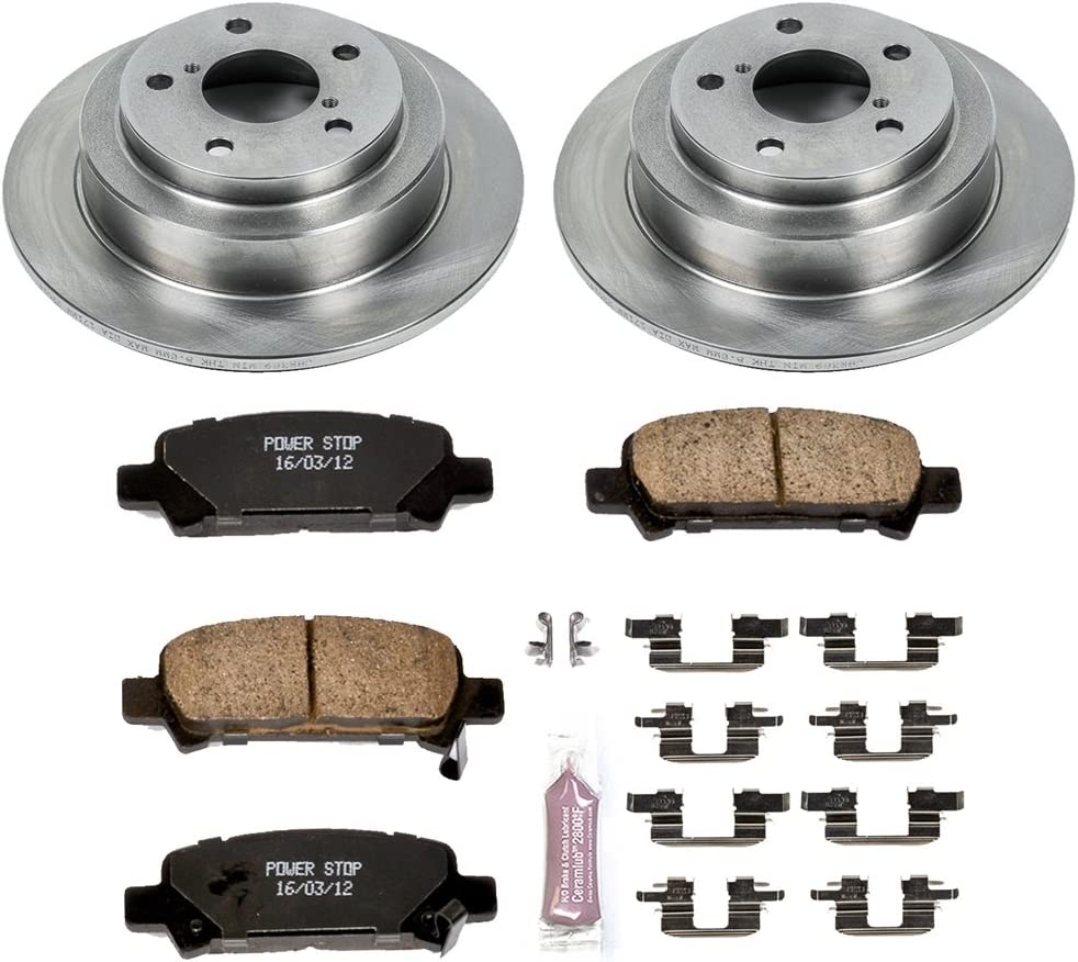 Autospecialty KOE2384 1-Click OE Replacement Brake Kit Power Stop