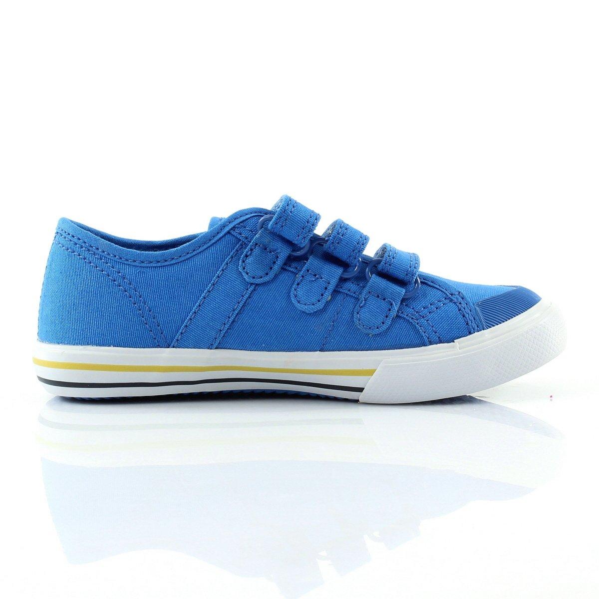 341a9a5fd1 C3672 sneaker bimbo LE COQ SPORTIF SAINT MALO scarpa azzurro strappi shoe  kid Kindermode, ...