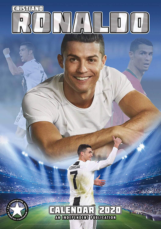 Soccer Calendar 2020 Cristiano Ronaldo Calendar   Calendars 2019   2020 Wall Calendars