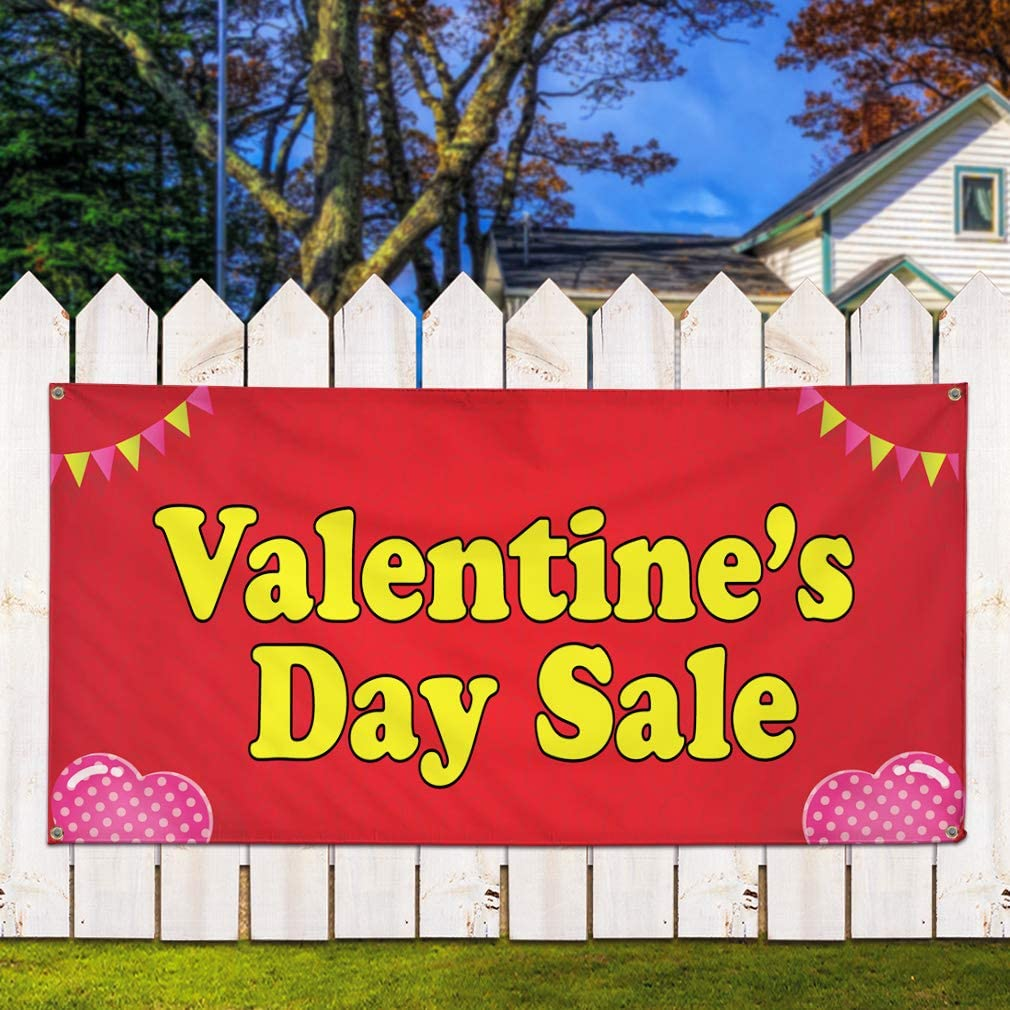 Vinyl Banner Multiple Sizes Carpet Sale Outdoor Advertising Printing D Business Outdoor Weatherproof Industrial Yard Signs White 10 Grommets 60x144Inches