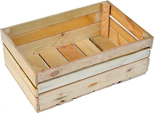 Caja de madera (60 x 40 x 20 – Varios Sets disponible: Amazon.es: Jardín
