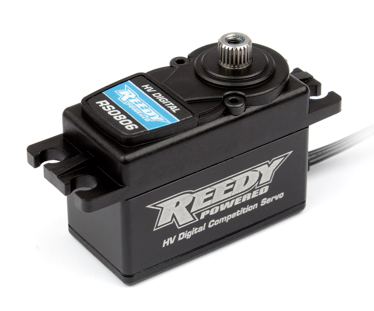 Team Associated 27108 Reedy Rs0806 Low Profile Digital High Voltage Hi-Speed Competition Hobby RC Vehicle Servos,