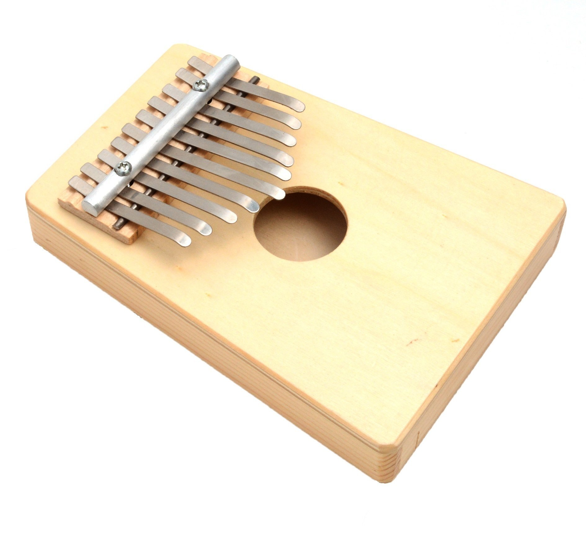 Thumb Piano Mbira Music Story Telling Instrument By Xgunion (Wood color)