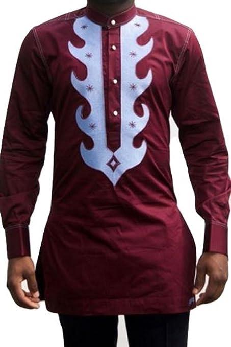 4bd569ac3 Amazon.com: Africa Blooms African Clothing for Men.Dashiki for Men -AfricanWear.Dashiki Shirt: Clothing