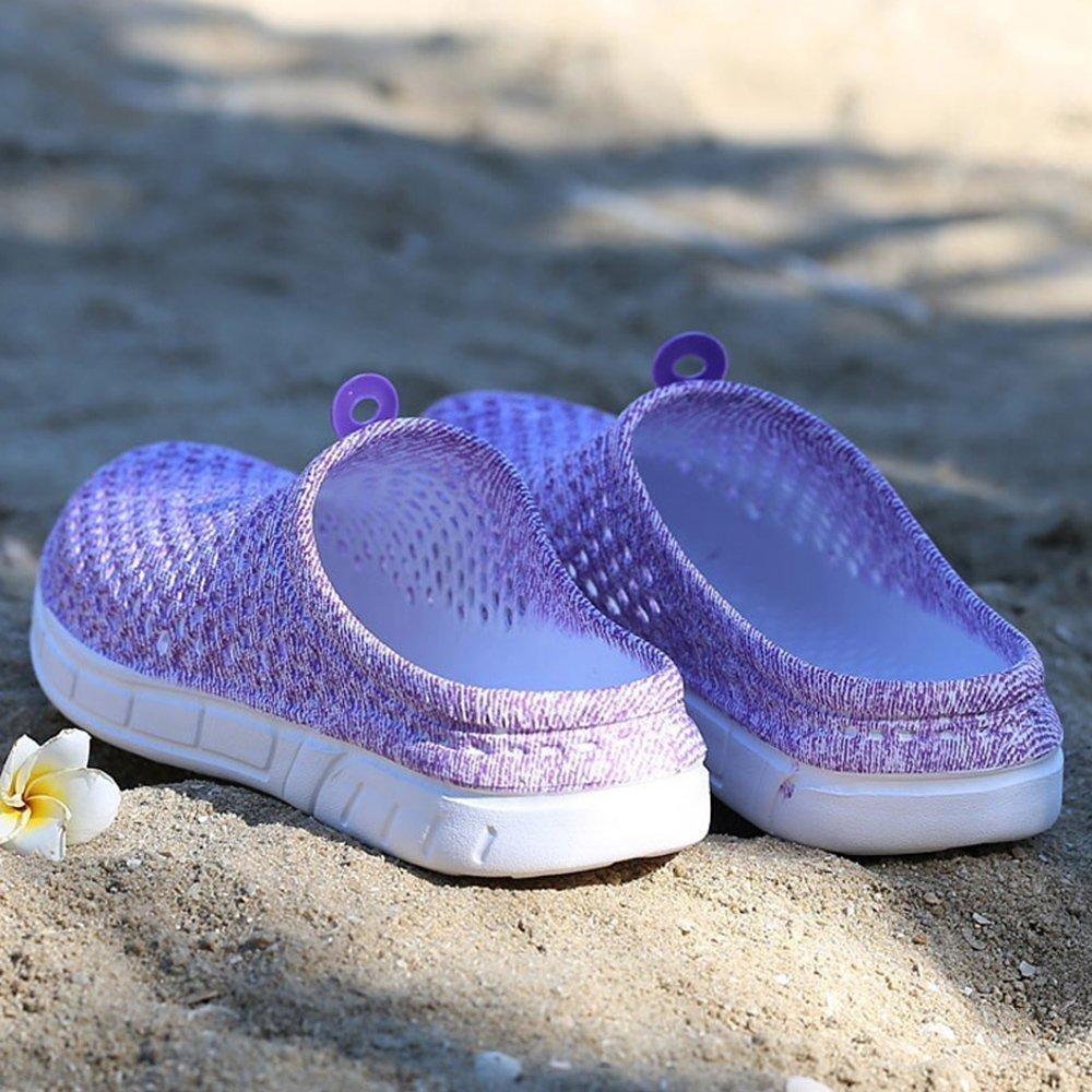 Zapatillas de playa Rainlin Zuecos para jardín Calzado de secado rápido  Zapatillas de playa antideslizantes Púrpura fa6207ae216
