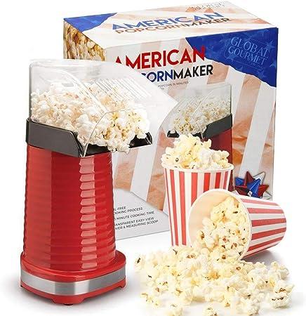 PALOMITAS EN LA CARRETERA - Con Global Gourmet Popcorn Maker, puede disfrutar de las palomitas de ma