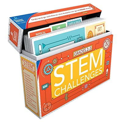 Carson Dellosa STEM Challenges Learning Cards (140350),Multi: Office Products