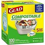 Glad® Compostable Garbage Bags, 100-pk