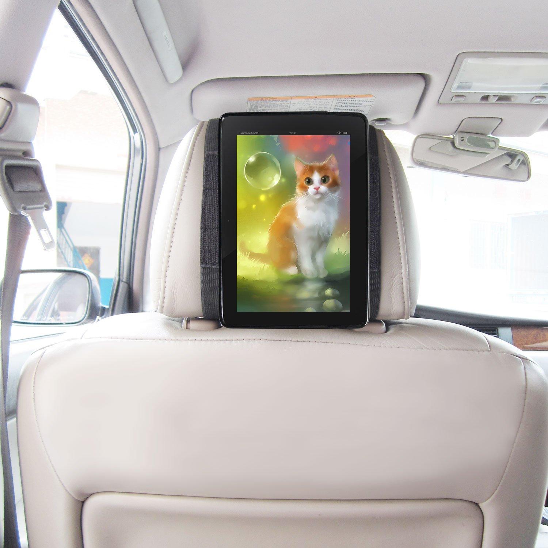 Kfz Halterung Kindle Fire Tablet 2015 Schnellverschluss Auto Kopfstü tzenhalterung - Schwarz von TFY (Fire HD 8' (2015)) KINDLEMOUNT