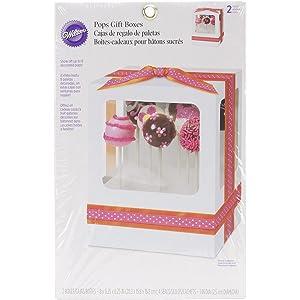 Wilton Pops Gift Boxes6.25inX8in 2/Pkg