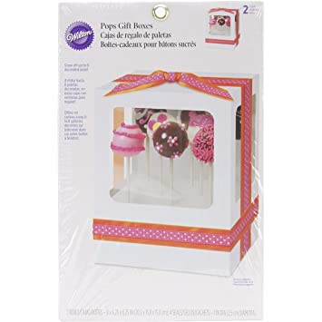 Pops Gift Boxes-White 6.25x8 2/Pkg