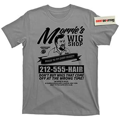 9789f1d6e Morrie's Wigs Wig Shop Goodfellas Movie Gangster Mob Mobster Mafia 100% Cotton  T Shirt (