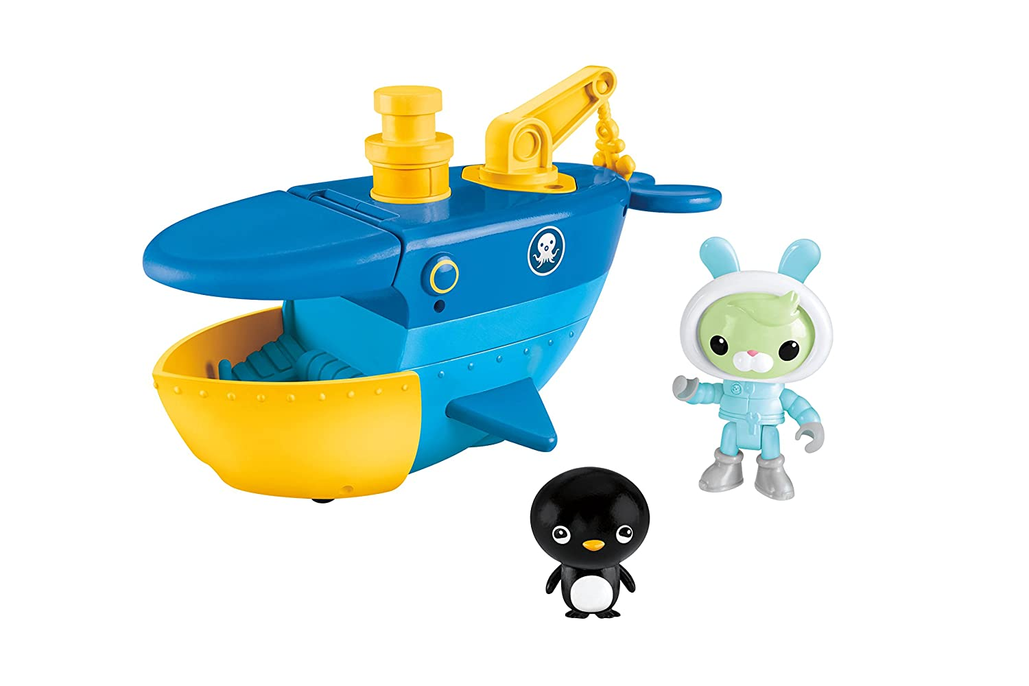 Amazon.com: Fisher-Price Octonauts Talking Ice Breaker Gup-C: Toys ...