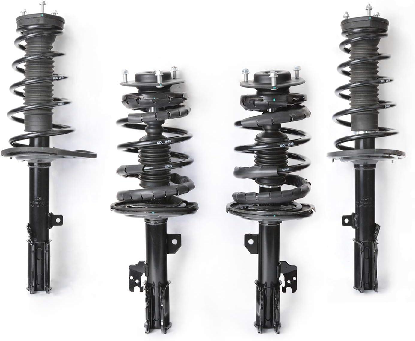 4 New DTA Shocks /& Struts Full Set OE Repl with Ltd Lifetime Warranty Camry