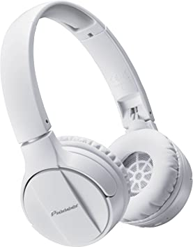 Pioneer SE-MJ553BT-W - Auriculares inalámbricos Bluetooth externos ...