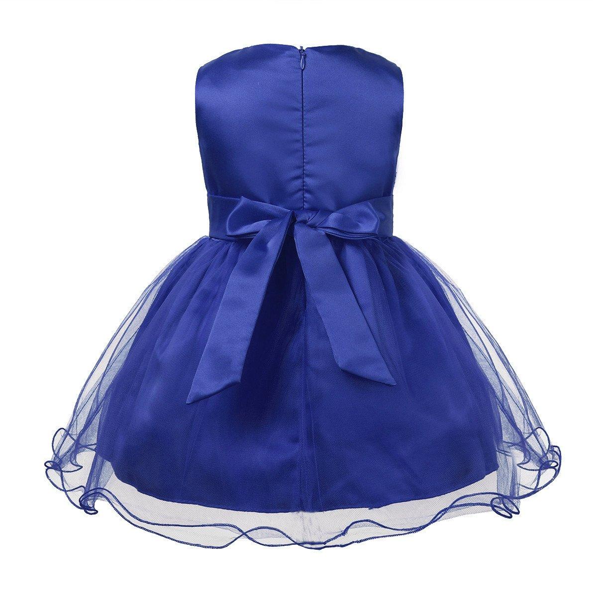Freebily Vestido de Fiesta Boda Bautizo para Bebé Niña (3-24 Meses ...