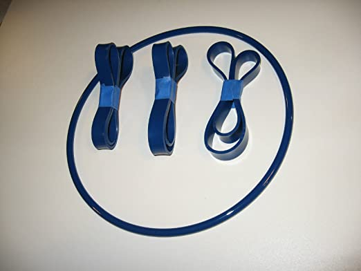 EMCO BS2 BLUE MAX ROUND DRIVE BELT AND 3 BAND SAW TIRES FOR EMCO BS-2 BAND SAW