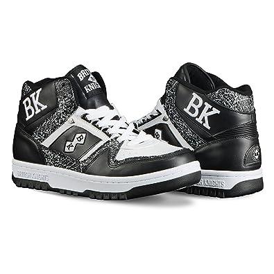 9757b823d35d British Knights Kings Sl Men s Chukka Sneaker Black White